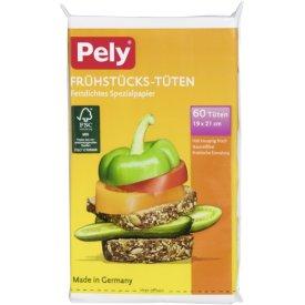 Pely Frühstücks-Tüten 19 x 21 cm