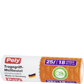 Pely 25 l Tragegriff Müllbeutel