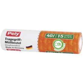 Pely 40 l Tragegriff Müllbeutel