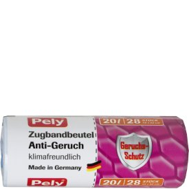 Pely 20 l Zugbandbeutel Anti-Geruch
