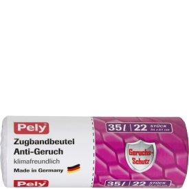 Pely 35 l Zugbandbeutel Anti-Geruch