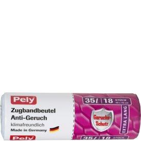 Pely 35 l Clean Zugbandbeutel Anti Geruch