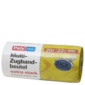 Pely 20 l Multi Zugband-Beutel