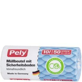Pely 10 l Müllbeutel mit Sicherheitsboden