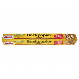 Julia Backpapier Zuschnitte 38x42cm 20er Pack