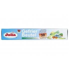 Julia Gefrierbeutel 3 l 25x32cm 30Stück auf Rolle
