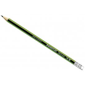 Staedtler Bleistift Noris eco 2HB mit Radierer
