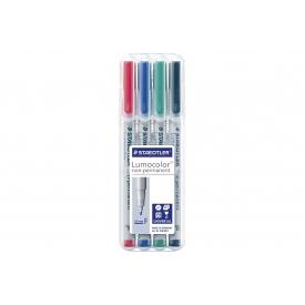 Staedtler Universalstift Lumocolor non-permanent F 4er Box