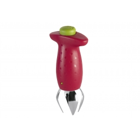 Chef`n Erdbeerstrunkentferner StemGem 4,5cm rot