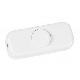 Kopp Schnurschalter 2-polig mit Wippe 250Volt weiß