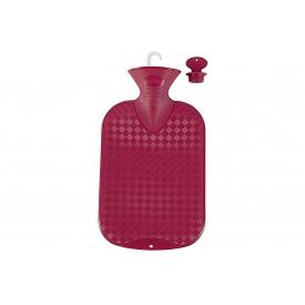 Fashy Wärmflasche glatt 2 l cranberry