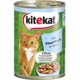 Katzenfutter Mit Thunfisch in Soße
