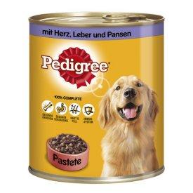 Pedigree Hundefutter mit Herz, Leber und Pansen