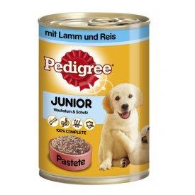 Pedigree Hundefutter Junior mit Lamm und Reis