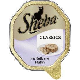 Sheba Katzenfutter Classics mit Kalb   Huhn