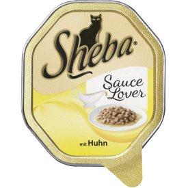 Sheba Katzenfutter Sauce Lover mit Huhn,