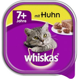 Whiskas Katzenfutter 7   mit Huhn