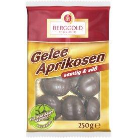 Berggold Gelee Aprikosen schokoliert