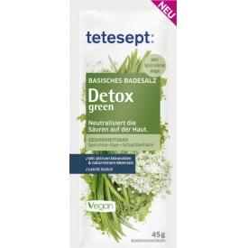 Tetesept Badesalz basisch Detox green
