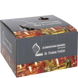 Teelichte Ø4cm 100er Karton weiß