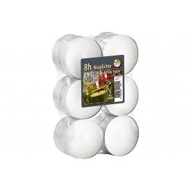Flatpack Maxilichte weiß 12er