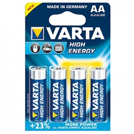 Varta  Batterie LR6 Mignon AA 1.5V High Energy 4er-Packung