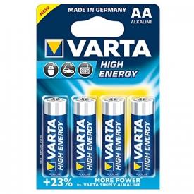 Varta  Batterie LR6 Mignon AA 1.5V High Energy 4er-Packung