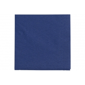 Fasana Lunch-Serviette 33x33cm uni royalblau 20er Pack