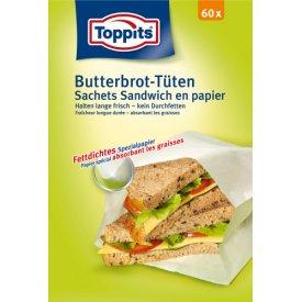 Toppits Butterbrot-Tüten Halten lange frisch - kein Durchfetten