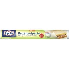 Toppits Butterbrotpapier Rolle 16m
