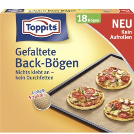 Toppits Gefaltete Back-Bögen