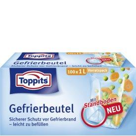 Toppits Gefrierbeutel Standboden Vorratspack 1L