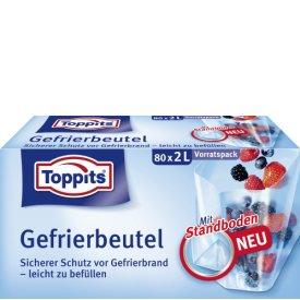 Toppits Gefrierbeutel Standboden Vorratspack 2L