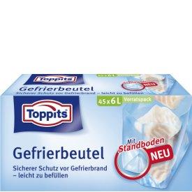 Toppits Gefrierbeutel Standboden Vorratspack 6L
