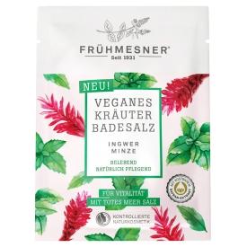 Frühmesner veganes Kräuter Badesalz Ingwer & Minze