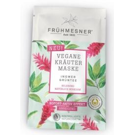 Frühmesner Vegane Kräuter Maske Ingwer & Grüntee