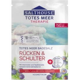 Salthouse Totes Meer Therapie Badesalz Rücken & Schulter
