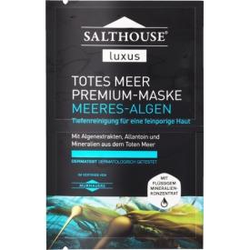 Salthouse Spezialpflege Luxus Totes Meer Premium Maske Meeres Algen