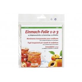 Deti Einmach-Folie 1-2-3 25er Pack