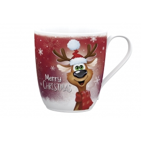 Wellco Kaffeebecher Merry Christmas 37cl