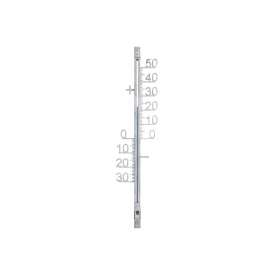 Tfa-dostmann TFA Außenthermometer Metall 10x1,7x42,8cm silber