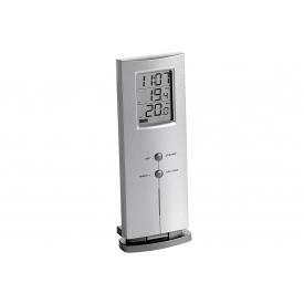 Tfa-dostmann TFA Funk-Thermometer 3,1x6,1x15,7cm silber-metallic/grau