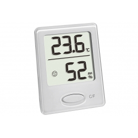 Tfa-dostmann TFA Thermo-Hygrometer digital, zur Kontrolle von Innentemperatur und Luftfeuchti