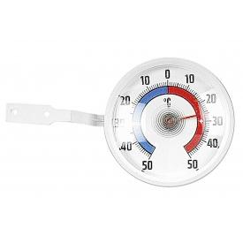 Tfa-dostmann TFA Fenster-Thermometer Ø7,3cm weiß