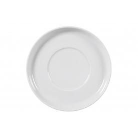 Arzberg Café-au-lait-Untertasse Cucina Ø16,5cm weiß