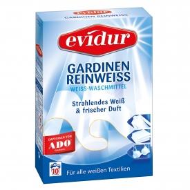 Evidur Gardinen Reinweiss Waschmittel 10WL