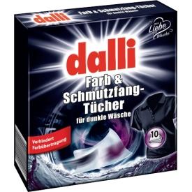 Dalli Farbtücher speziell für dunkle Wäsche