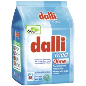 Dalli MED Vollwaschmittel Pulver 18 WL