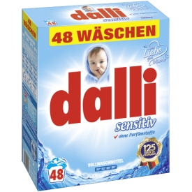 Dalli Vollwaschmittel sensitiv 48WL