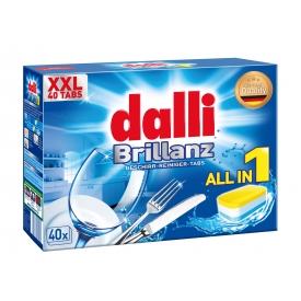 Dalli Brillanz Maschinen-Geschirr-Reiniger Tabs